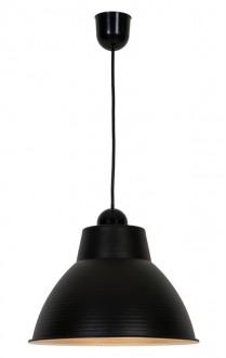 Wisząca lampa metalowa Casto w stylu industrialnym