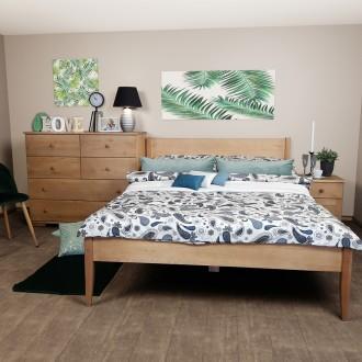 Klasyczne łóżko do sypialni Presto
