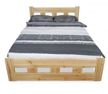 Klasyczne łóżko do sypialni z zagłówkiem Bond