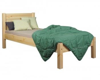 Drewniane łóżko z zagłówkiem Classic