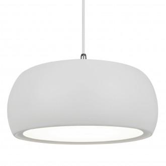 Wisząca lampa LED z białym kloszem akrylowym Oval