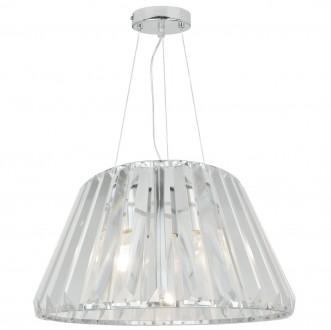 Wisząca lampa z transparentnym kloszem Paria