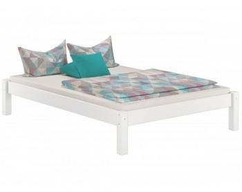 Sosnowe łóżko sypialniane bez zagłówka Dora