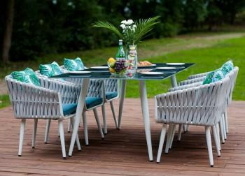Stołowe meble do ogrodu Corda