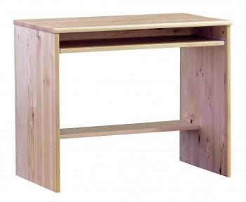 Biurko z drewna sosnowego z szafką Modern I