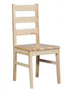 Drewniane krzesło do jadalni Boston