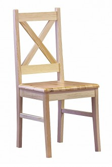 Sosnowe krzesło jadalniane Rodos