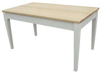 Rustykalny stół na czterech nogach Lida