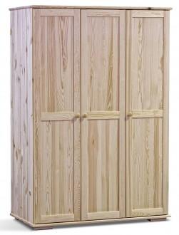 Drewniana szafa trzydrzwiowa Modern 120