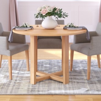 Bukowy okrągły stół Rotunda Table