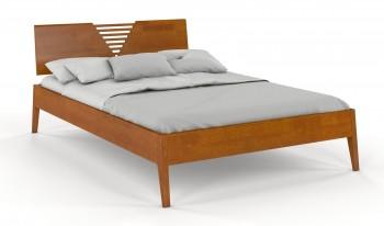 Łóżko sosnowe z wezgłowiem Wołomin