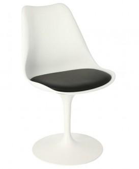 Designerskie krzesło na jednej nodze Tulip Basic
