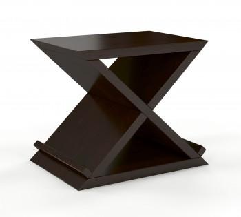 Nowoczesny stolik nocny z drewna sosnowego Jarocin
