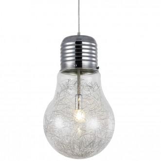 Wisząca lampa Bulb ze szklanym kloszem w kształcie żarówki