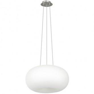 Wisząca lampa salonowa Inez 37 z okrągłym kloszem szklanym