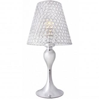 Dekoracyjna lampa stołowa Marvel z kryształowym kloszem