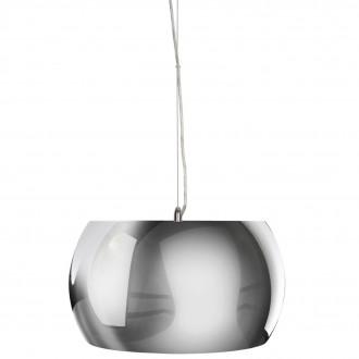 Designerska lampa wisząca Sillo 38 z okrągłym kloszem