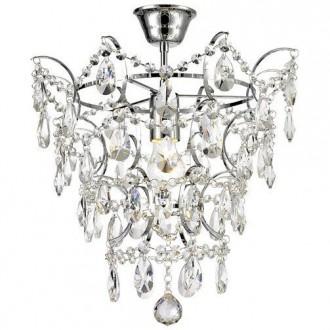 Elegancki plafon sufitowy z kryształami Fusion
