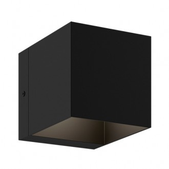 Czarny spot kwadratowy Transfer WL