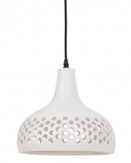 Lampa wisząca z ceramicznym kloszem Mercurius S