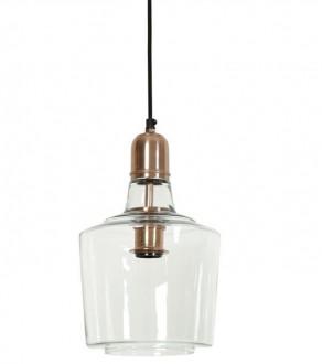 Szklana lampa wisząca Yole
