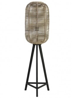 Designerska lampa stojąca na trzech nogach Base