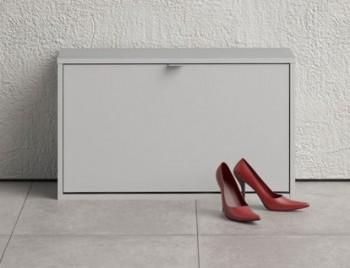 Biała szafka na obuwie Roma 1D głęboka