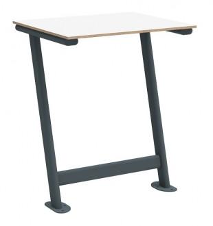Stół do sali wykładowej S1 TPS1U jednoosobowy mocowany do podłogi