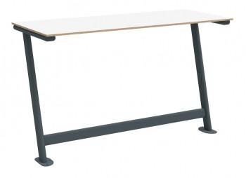 Stół do sali wykładowej S2 TPS1U dwuosobowy mocowany do podłogi