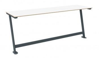 Stół do sali wykładowej S3 TPS1U trzyosobowy mocowany do podłogi