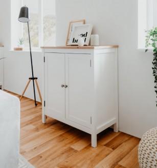 Mała komoda w stylu rustykalnym Bergen 2D