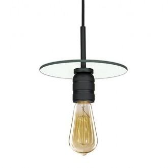 Industrialna lampa wisząca bez klosza Techno Loft