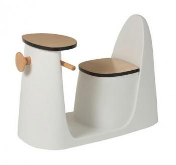 Designerskie krzesło i stolik dla dziecka Skuter