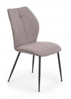 Tapicerowane krzesło z uchwytem na oparciu K383