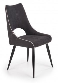 Krzesło z tapicerowanym siedziskiem i oparciem K369