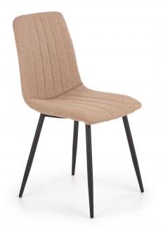 Nowoczesne krzesło na metalowych nogach K397