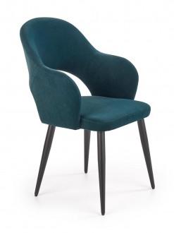 Tapicerowane krzesło z podłokietnikami K364