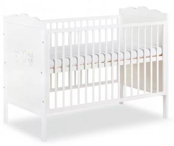 Łóżeczko dla dziecka z regulowanym dnem Marsell 120x60