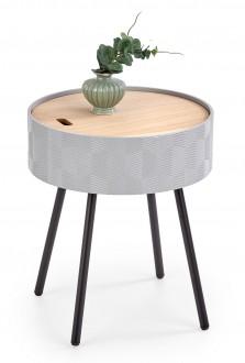 Stolik pomocniczy z miejscem przechowywania Aura