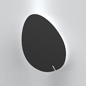 Czarny kinkiet ścienny w stylu designerskim Point No.3