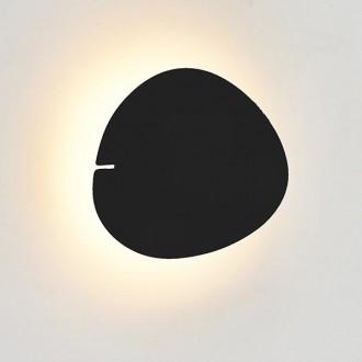 Duży kinkiet ścienny Point No. 4 w kolorze czarnym
