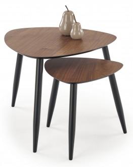 Zestaw dwóch stolików w stylu loftowym Nicea