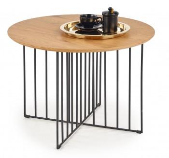 Okrągły stolik kawowy w stylu industrialnym Zara