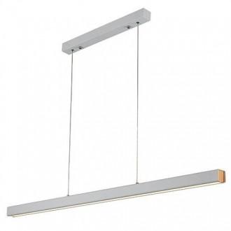 Biała lampa jadalniana LED 3K Linea No 4 100 cm