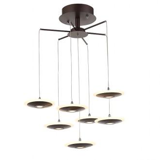 Wieloczęśiowa lampa sufitowa LED Spider w stylu loft