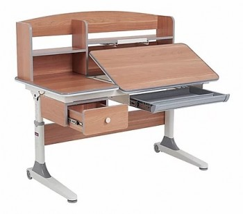 Regulowane biurko do pokoju dziecięcego Tulipa