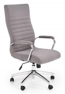 Krzesło biurowe z tkaniny z podłokietnikami Vettel
