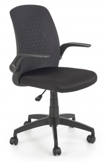 Krzesło gabinetowe z oparciem z siatki Secret