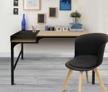 Loftowe biurko z półką Fortaleza