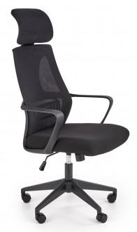 Obrotowe krzesło gabinetowe z zagłówkiem Valdez